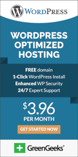 WordPress Hosting at $3.96 Per Month