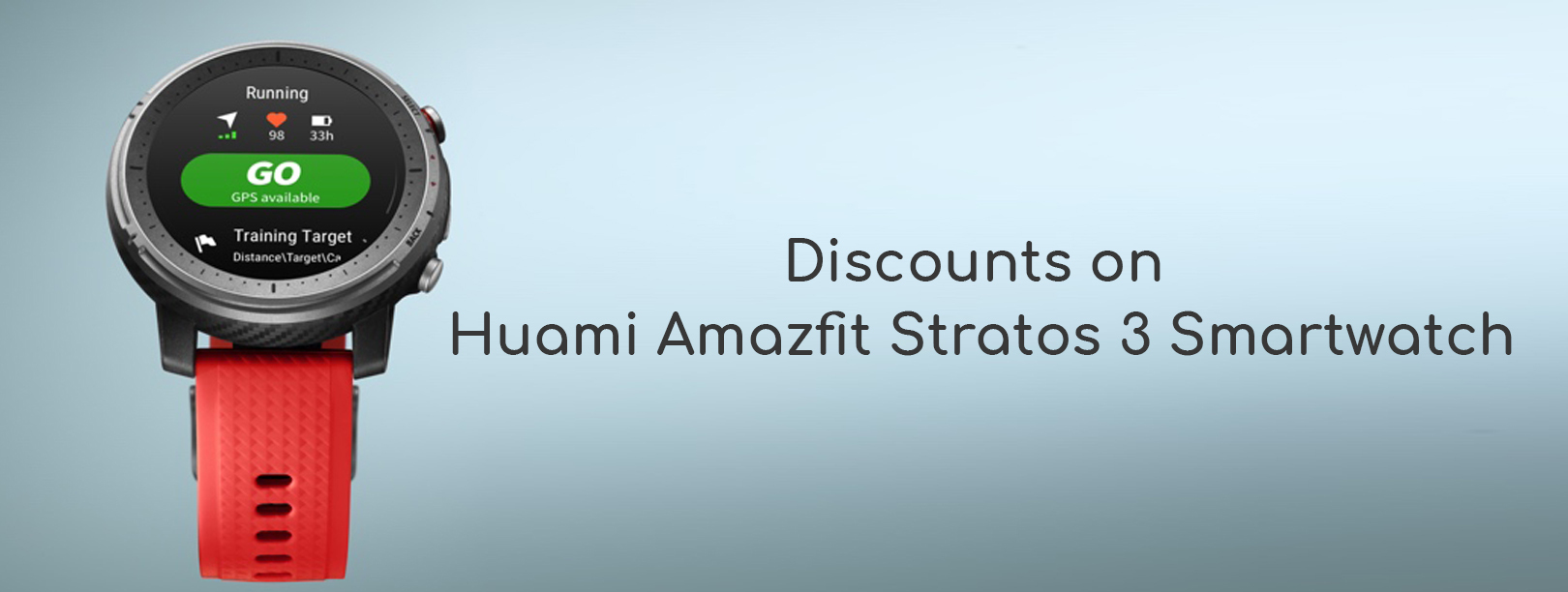 Flipkart Huami Amazfit Stratos 3 Smartwatch