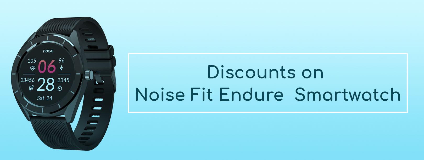 Flipkart Noise Fit Endure  Smartwatch
